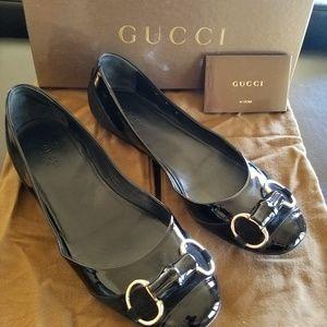 Gucci flats Moca Pelle size 9